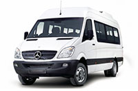 Mercedes-Benz Sprinter белого цвета