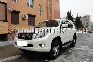 Toyota Land Cruiser Prado New белого цвета