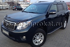 Toyota Land Cruiser Prado New черного цвета